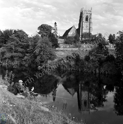 Fishing, River Swale, Topcliffe